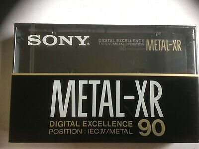 Sony Metal Xr 90 Factory Sealed Audio Cassette Japan