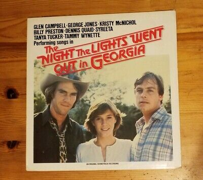 The Night The Lights Went Out in Georgia Soundtrack Vinyl LP Rare 1981 WTG-16051