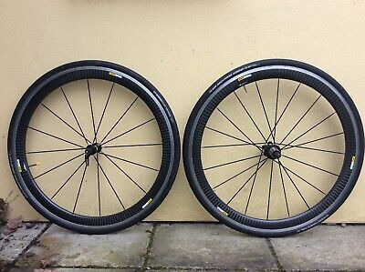 Mavic Cosmic Pro Carbon Wheelset Shimano Fit With Gp4000 Tyres