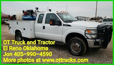 2015 Ford F-350 F350 4wd 9ft Utility Bed service Body 6.2L Gas