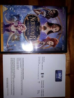 The Nutcracker and the Four Relms DVD (NEW FROM SKY STORE)