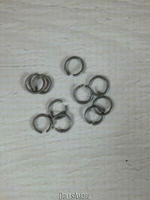 """Doll Repair- 10 Arm Rings Fit 8"""" Muffie, Ginny Dolls 1 Arm Band Also Included"""