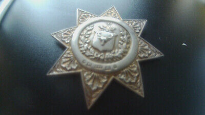 Silver Ancient Order of Foresters Sash Buckle, Hilliard & Thomason, 1884