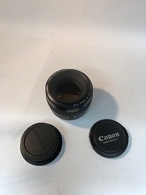 Canon EF 50mm f1.4 USM Standard Lens for Canon SLR Cameras - WONT FOCUS  AS IS