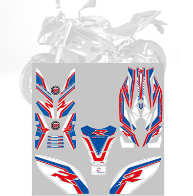 3D Gel Complete Fairing Fuel Tank Pad Decal Sticker For BMW S1000R 2017 S 1000R