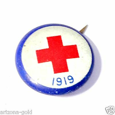 Antique American Red Cross Pin 1919 Vintage WW I Collectible RANDOM SELECTION