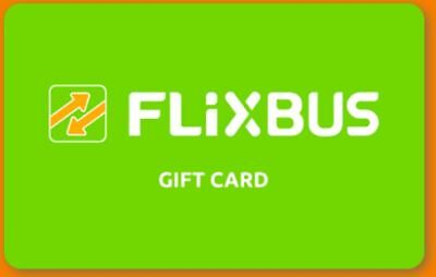 GIFT CARD - COUPON - CARTA REGALO  - SHOPPING  CARD -  FLIXBUS  da 25€