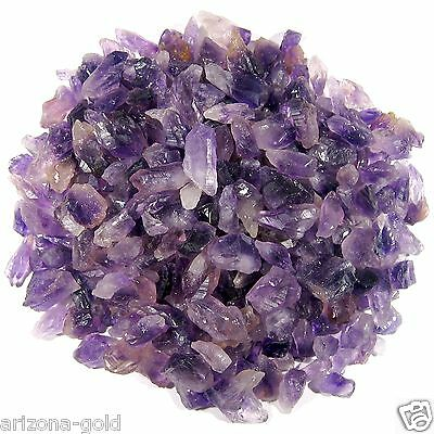 1 Pound of Uruguay AMETHYST Rough Point Pieces Chunks 16 oz. Random Picked