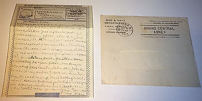 Vintage WWII V-Mail Cpl. D. Gaynor 360th Bomb Squadron Mechanic! Merry Xmas 1942