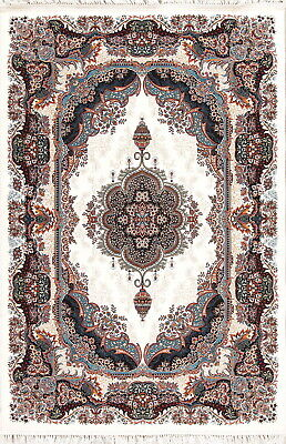 High-End Quality Traditional Vintage Style Turkish Oriental Ivory 5'x7' Area Rug