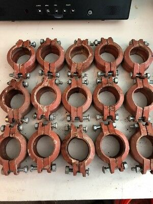 "Central 2""/  HH 772 Sprinkler Clamps No Gaskets (lot of 15)"