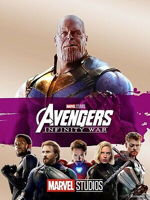 Avengers: Infinity War 2018 (4K ULTRA HD Digital Copy) Marvel Disney