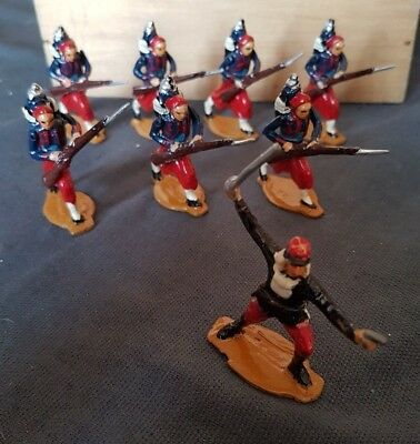 8 Loose Zouaves Figures