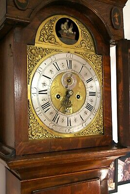 Liverpool George II longcase clock by Peter Green