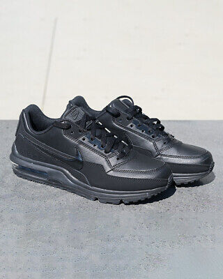 Nike Scarpe Sneakers Sportive Air Max leather lifestyle sportswear Nero