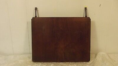 Antique Treadle Sewing Machine Extension Top Table Piece Lift Up Hinged Wood
