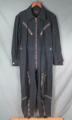 Vintage 50s US Air Force Flying Flight Suit L-1A Coverall Albert Turner Co Rare