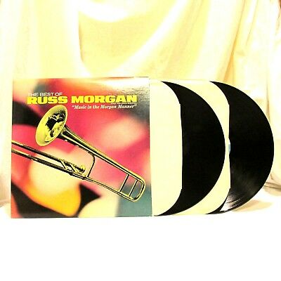 1965 Russ Morgan The Best Of Russ Morgan Vinyl LP 33 MCA MCA2 4036 2 Album Set