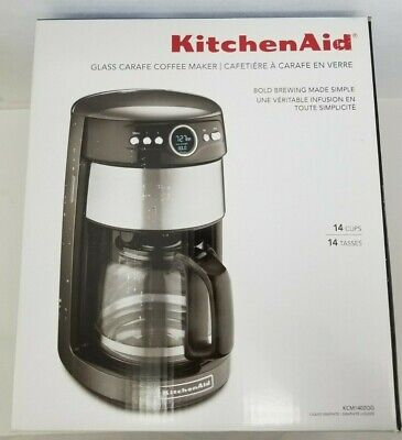KITCHENAID 14 CUP Glass Carafe Coffee Maker KCM1402QG