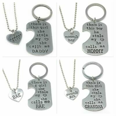 *UK* 925 SILVER PLT /'THESE BOYS STOLE MY HEART THEY CALL ME MOM/' NECKLACE MUM