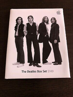The Beatles itunes gift card unused unscratched unactivated apple 2010