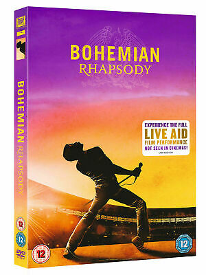 Bohemian Rhapsody DVD 2019 Brand New Sealed with Special Features 1st Class Post