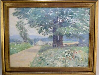 John Louis Wellington (1878-1965) Cumberland MD Landscape Painting Maryland