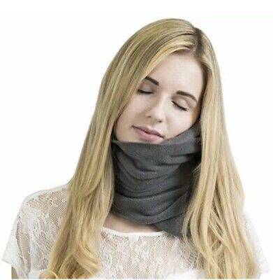 Trtl Travel Pillow - Soft Neck Support Pillow - Grey Or Black Available