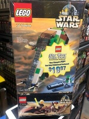 LEGO - 7104 - 7144 - Slave 1 - Desert Skiff - Star Wars Co-Pack