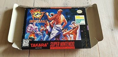 * Super Nintendo * Fatal Fury Special * NTSC BOX ONLY! * SNES *