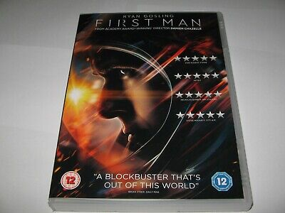 First Man (2018)  Ryan Gosling  Claire Foy  Official Region 2 + 4 Pal Dvd