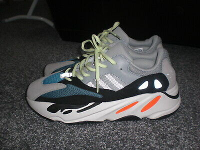 cf6a2ab594145 Mens Adidas Yeezy 700 B75571 Trainers Wave Runner Grey UK 8 Boost Reflective