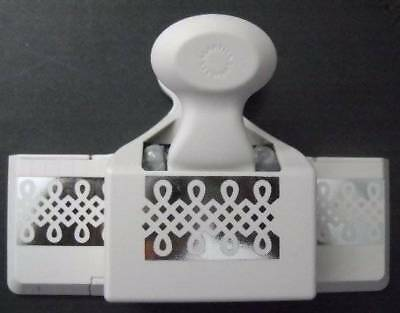 Martha Stewart Large Double Edge Trellis Trim Punch ~ Crafts