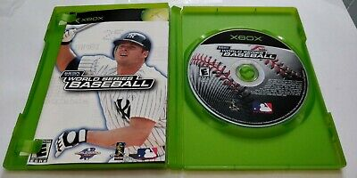 World Series Baseball Xbox Complete