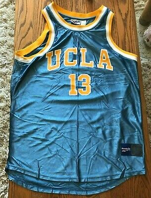 562acb2cecdf Large L Reebok Ncaa Ucla Bruins  13 Men s Basketball Jersey Rare! Stylish  Look!