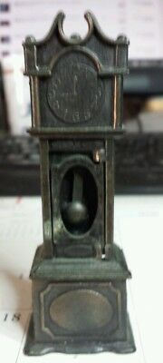 vintage Durham industries miniature grandfather clock Hong Kong