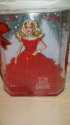2018 Holiday Barbie 30Th  Anniversary Signature Doll
