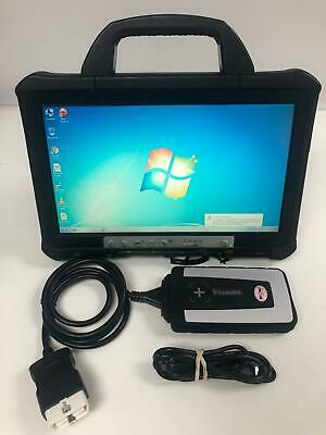 Panasonic Toughbook Cf-D1 Professional Diagnostic Laptop Car Garage 4GB WIN 7