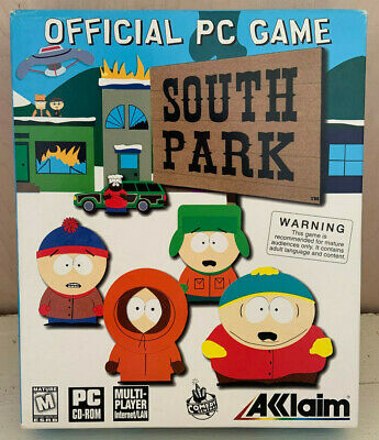 SOUTH PARK OFFICIAL PC Organizer (PC CD) New & Factory
