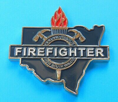Fire & Rescue New South Wales - Firefighter Challenge Coin