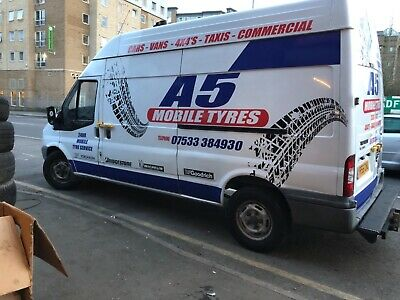 Ford Transit Mobile Tyre Fitting Van