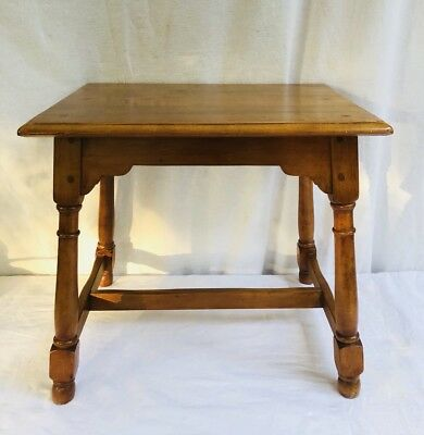Vintage Rock Maple Side Table ~Accent Table~ End Table