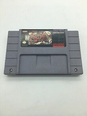 Secret of Evermore SNES Super Nintendo The Game Cartridge Only Tested!