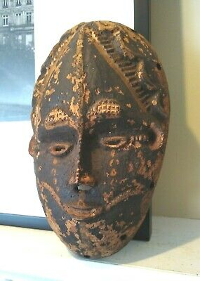 Antique African Idoma Mask - NIGERIA - Late 19th to Early 20th Century