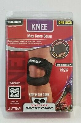 f44590d62d MUELLER Max Knee Strap SPORT CARE One Size Maximum Support. NEW