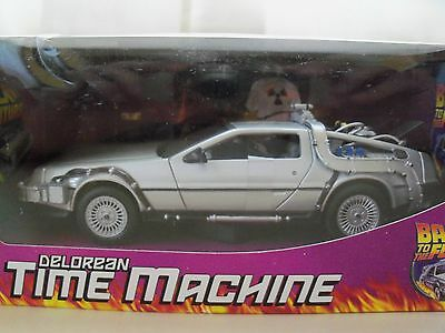 Welly - Back To The Future - Delorean Time Machine - 1/24 Diecast Model
