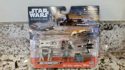 Star Wars Rogue One Micro Machines Fight The Imperial Might 5 Vehicles 2 Figures
