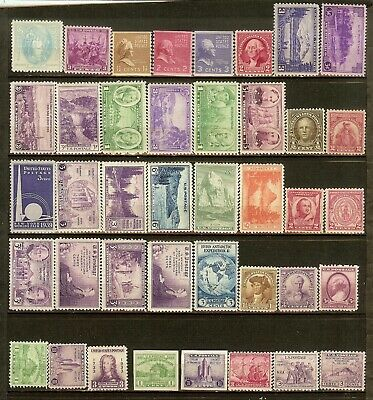 United States, Lot of 40+ Different Stamps, MNH