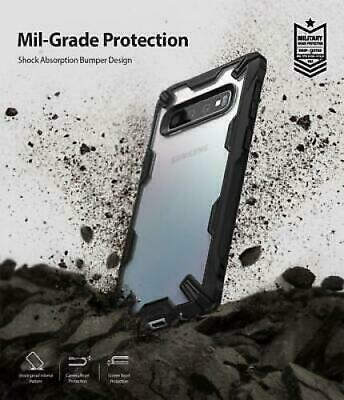 For Samsung Galaxy S10 6.1Case Ringke [FUSION-X] Shockproof Armor Bumper Cover