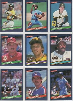 New 1986 Leaf Baseball Cards Wax Box 36 Packs Bo Jacksonjose